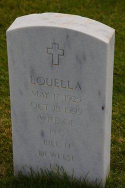 "Louella ""Lou"" <I>Turner</I> Deweese"