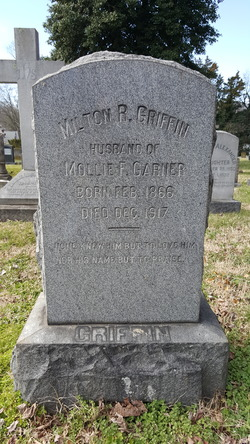 Milton R Griffin