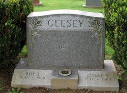 Esther Sophia <I>Ruesskamp</I> Geesey