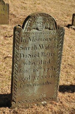 Sarah <I>Comstock</I> Betts