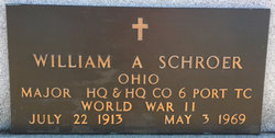 Dr William A Schroer