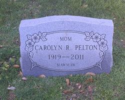 Carolyn R Pelton