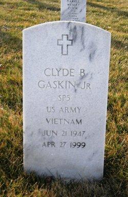 Clyde B Gaskin, Jr