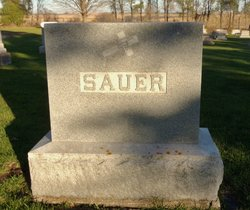 Margaret <I>Mayer</I> Sauer