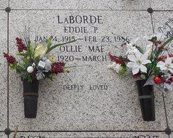 Ollie Mae <I>Brouillette</I> LaBorde