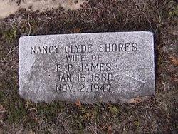 Nancy Clyde <I>Shores</I> James