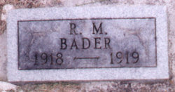 Robert Milton Bader