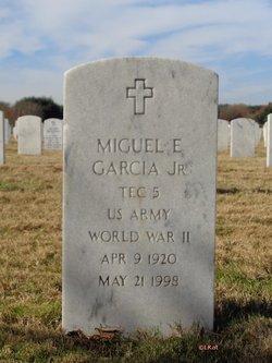 Miguel E Garcia, Jr