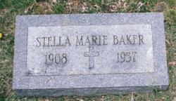 Stella Marie <I>Logsdon</I> Baker