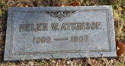 Helen <I>Wolcott</I> Atkinson