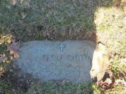 Allen Zach White, Sr