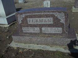 Charlotte L. <I>Huffman</I> Eckman