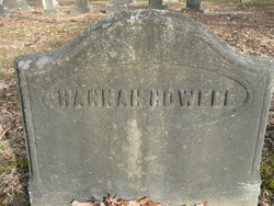 Hannah <I>Cruger</I> Howell