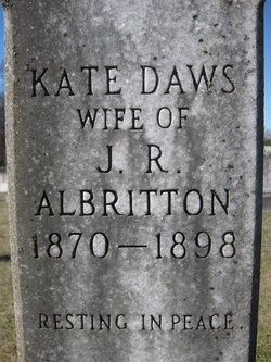 Kate <I>Daws</I> Albritton