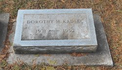 Dorothy Marie <I>Hardecopf</I> Kadlec