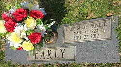 "Mary Olivia ""Billie"" <I>Privette</I> Early"
