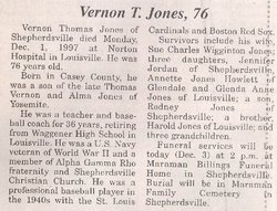 "Vernon Thomas ""V.T."" Jones"