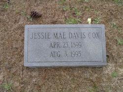 Jessie Mae <I>Davis</I> Cox