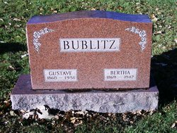 Bertha <I>Krause</I> Bublitz