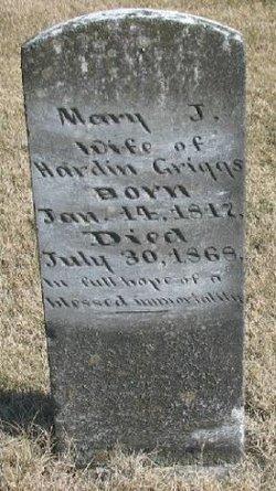 Mary Jane <I>Hardiman</I> Griggs