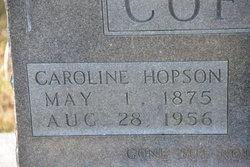 Caroline <I>Hopson</I> Coffey