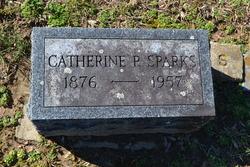 Catherine P <I>Burns</I> Sparks