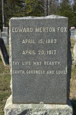 Edward Merton Fox