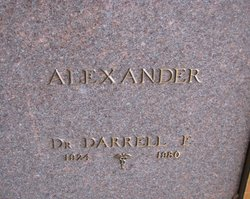Darrell E Alexander