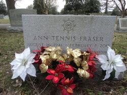 Ann <I>Tennis</I> Fraser