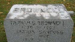 Lucinda <I>Sanford</I> Brownell