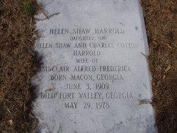 Helen Shaw <I>Harrold</I> Frederick