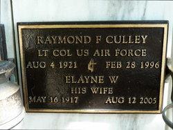 Raymond Frederick Culley