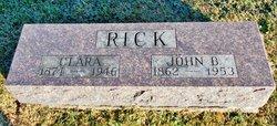 John Benjamin Rick
