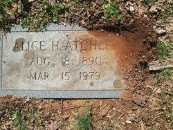 Alice <I>Hillard</I> Atchley