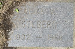 Alice V Solberg