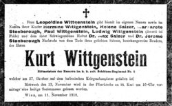 "Konrad ""Kurt"" Wittgenstein"
