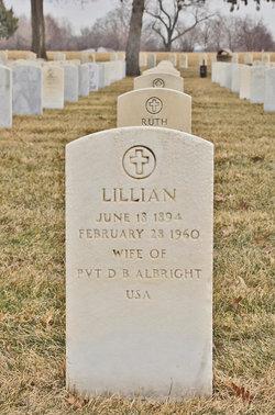 Lillian Albright