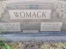 Fred B Womack
