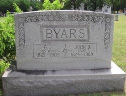 Emily Jane <I>Snyder</I> Byars