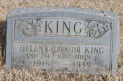 Helen <I>Galbraith</I> King