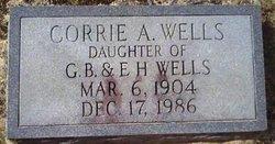 Corrie A. Wells