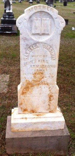 Isabella Virginia <I>Fowlkes</I> Armstrong