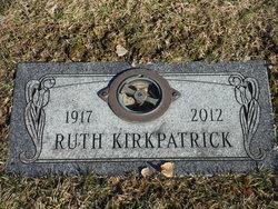 Ruth Marian <I>Gerhan</I> Kirkpatrick