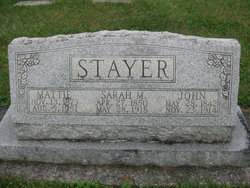 John Sherman Stayer Sr.