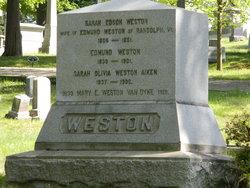 Mary E. <I>Weston</I> Van Dyke
