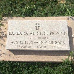 Barbara Alice <I>Cupp</I> Wild