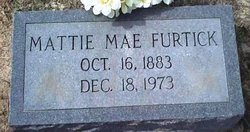 Mattie Mae <I>Rountree</I> Furtick