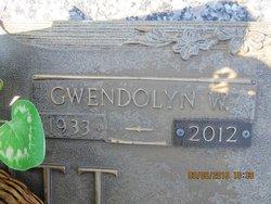 Gwendolyn <I>Whetstone</I> Calcutt