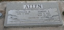 "Tommy Eugene ""Tom"" Allen, Sr"