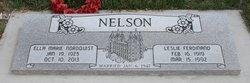 Leslie Ferdinand Nelson